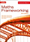 Image for Maths frameworkingHomework book 3