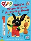 Image for Bing's Wipe Clean Activity Book