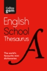 Image for Collins Gem school thesaurus