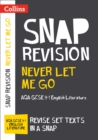 Image for Never let me go  : AQA GCSE English literature