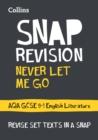 Image for Never let me go  : AQA GCSE English literature