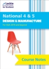 Image for National 4/5 design and manufacture course notes