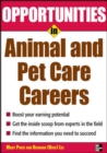 Image for Opportunities in animal and pet careers