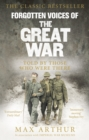 Image for Forgotten voices of the Great War