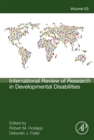 Image for International Review of Research in Developmental Disabilities. : Volume 53