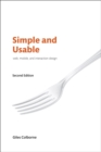 Image for Simple and usable: web, mobile, and interaction design