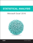 Image for Statistical analysis: Microsoft Excel 2016