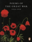 Image for Poems of the Great War, 1914-1918