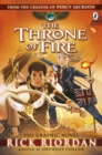 Image for The Throne of Fire: The Graphic Novel
