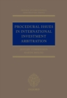Image for Procedural Issues in International Investment Arbitration