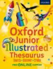 Image for Oxford junior illustrated thesaurus  : search, discover, create