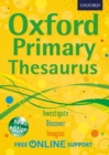 Image for Oxford primary thesaurus.
