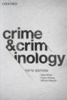 Image for Crime & criminology
