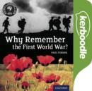 Image for History Through Film: Why Remember the First World War? Kerboodle Films