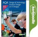 Image for AQA A Level Design & Technology:Product Design (3-D Design) Kerboodle