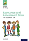 Image for Nelson spelling: Resources and assessment book for books 5 & 6