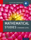 Image for Oxford IB Diploma Programme: Mathematical Studies Standard Level Course Companion