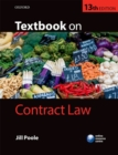 Image for Textbook on contract law