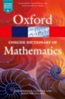 Image for The concise Oxford dictionary of mathematics