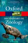 Image for A dictionary of zoology