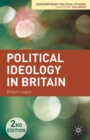 Image for Political ideology in Britain