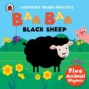 Image for Baa, baa, black sheep  : five animal rhymes