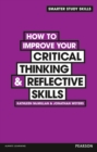 Image for How to improve your critical thinking & reflective skills