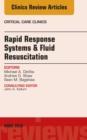 Image for Rapid response systems/fluid resuscitation : v. 34-2