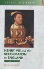 Image for Henry VIII and the Reformation in England