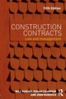 Image for Construction contracts  : law and management