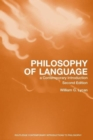 Image for Philosophy of language  : a contemporary introduction