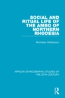 Image for Social and ritual life of the Ambo of Northern Rhodesia