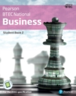 Image for BTEC Nationals Business Student Book 2: For the 2016 specifications : Student book 2