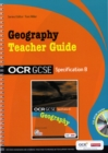 Image for GeographyOCR GCSE specification B,: Teacher guide