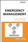 Image for Emergency management: concepts and strategies for effective programs
