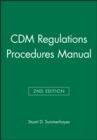 Image for CDM regulations procedures manual