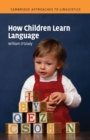 Image for How children learn language