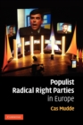 Image for Populist radical right parties in Europe