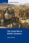 Image for The Great War in British literature : The Great War in British Literature