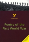 Image for Poetry of the First World War  : notes