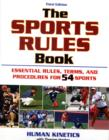 Image for The sports rules book