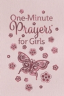 Image for One-minute prayers for girls.