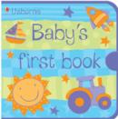 Image for Usborne Baby's First Book Blue Cloth Book