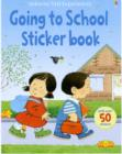 Image for Going to school sticker book