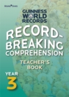 Image for Record breaking comprehensionYear 3,: Teacher's book