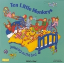 Image for Ten little monkeys  : jumping on the bed