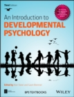 Image for An introduction to developmental psychology