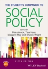 Image for The student's companion to social policy