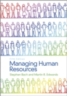 Image for Managing human resources  : human resource management in transition