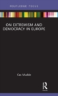 Image for On extremism and democracy in Europe